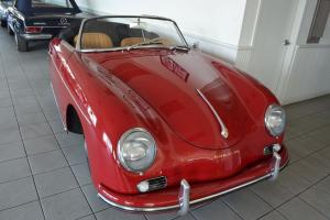 1959 Porsche 356A Convertible D in highly restored condition.