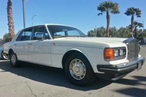 1989 ROLLS ROYCE SILVER SPIRIT PRESTINE WHITE Photo