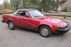 Triumph TR-7  1980  TR7 convertible Photo