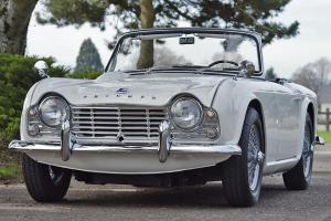- '65 Triumph TR-4 - Nut and bolt restoration - Oregon car - Outstanding example Photo