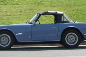 1973 Triumph TR-6. Rust Free. Enjoy the rumble only a British car can bring you!