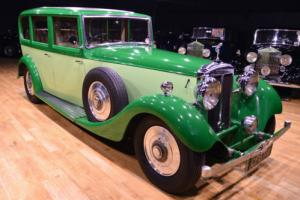 1934 Daimler Limousine Type V. 26 With Division Photo