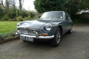 MGB GT 1969 MK2 - CHROME BUMPER - RARE GRAMPIAN GREY - TAX EXEMPT - OVERDRIVE