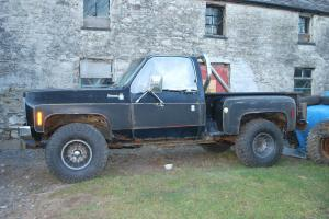 monster truck chevy step side v8 not land rover p/x for land rover 4x4