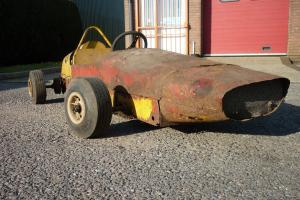 BARNARD FORMULA 6 JUNIOR RACING CAR . GO KART. AUTOMOBILIA. PROJECT. RESTORATION