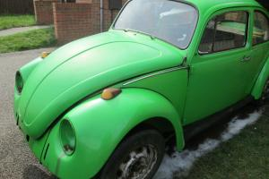 CLASSIC VW BEETLE PROJECT 1974