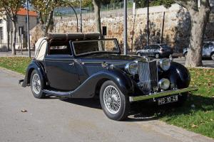 MG SA 1938 TICKFORD DROPHEAD