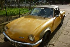 Triumph Spitfire MK4 Restoration Project - Tax Exempt No Reserve 'FD' Engine