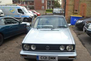 volkswagon Golf GTI Mark 1 cabriolet Convertible1800cc