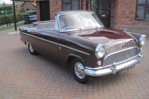 ford consul mkll convertible deluxe not zephyr or zodiac