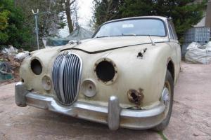 Jaguar MK2 2.4 restoration project