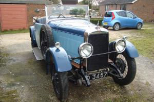 Alvis 12/50 1931 Cross and Ellis Wide 2 seater with dickey
