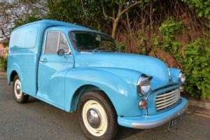 MORRIS MINOR VAN - 6CWT VAN - BODY OFF RESTORATION !!
