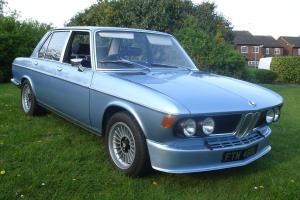 "BMW E3 3.0s 1972 Fjord Blue With Genuine 16"" Alpinas"