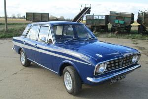ford cortina 1600gt lotus colours full mot and tax restored