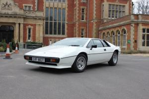 Lotus Esprit S2 in Monaco White (1979) Photo