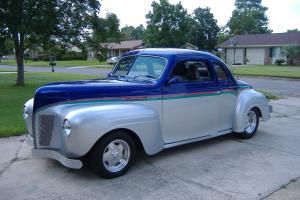 1940 Custom Plymouth Coupe, Professionally restored 2009