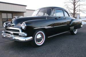 1951 Chevy Deluxe Coupe, Extra Clean, Rust Free Car