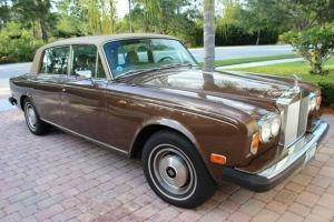 1978 Rolls Royce Silver Wraith II Brown  Body Camel Top 110,929 Orginal Miles