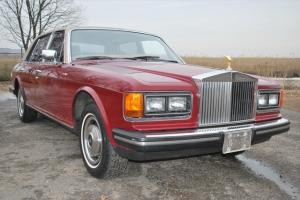 1982 Rolls-Royce Sivler Spur Automatic 4-Door Sedan