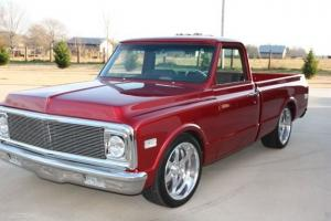 1972 Red Chevy Truck