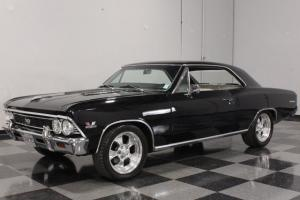 "396 CI RESTO-MOD, CONSOLE, R134 AC, FRONT DISC, POLISHED 17""; 3:73 POSI, 12-BOLT"