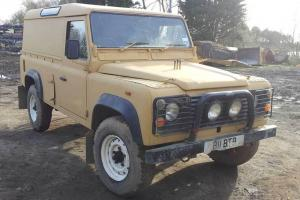 Land Rover 110. 200TDi Fitted