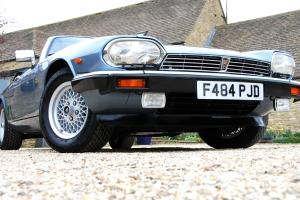 BREATHTAKING 1988 JAGUAR XJS V12 CONVERTIBLE 2 OWNER
