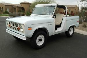 1971 Ford Bronco Uncut Roadster 28,000 Original Miles