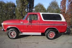 RARE 1978 FORD BRONCO RANGER XLT --  94544 WELL MAINTAINED MILES