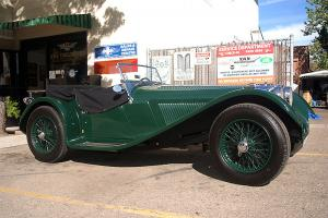 1937 JAGUAR SS100 Replica by Suffolk Sports Cars / XKs Unlimited