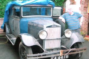 1931 Morris Oxford Six Saloon for easy restoration