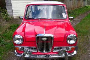 1964 WOLSELEY HORNET MARK 2 SALOON GENUINE 62500 MILES VERY RARE CAR Photo