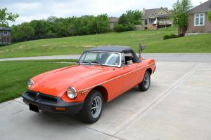 Restored 1979 MGB Convertible
