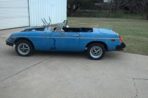 1975 MGB covertable