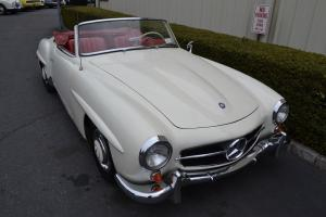 1957  Very solid driver Mercedes 190SL