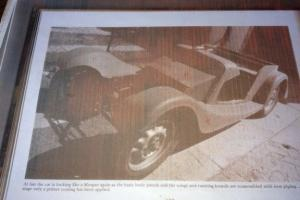 1953 MORGAN FLAT RAD---+4 ROADSTER----APART----EXCELLENT CAR---CALL FOR DETAILS