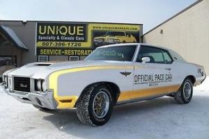 1972 Oldsmobile Hurst/Olds Indy Pace Car, 455,auto