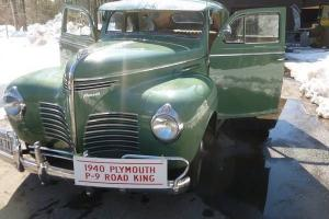 1940 Plymouth P-9 Road King (Very Good Condition)