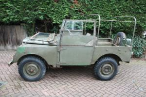 "Land Rover Series 1 Minerva 80"" Ex Army 1953 Photo"