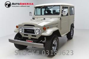 57K MILES 1974 TOYOTA LAND CRUISER FJ 4X4 MANUAL TRANSMISSION OFF ROAD VINTAGE
