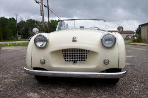 1954 TRIUMPH TR2   LONG DOOR.  OVERDRIVE.  VERY GOOD CONDITION.