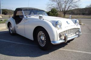 Triumph TR3A in Driver Condition NO RESERVE