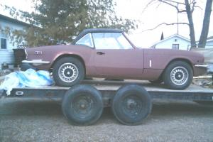 Triumph Spitfire Parts Car 1971 Photo