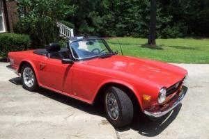 1974 TRIUMPH TR6, GREAT RESTORED CAR! READ DESCRIPTION!! ALL REPLACED/UPGRADED!! Photo