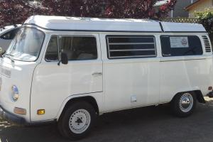1972 WW Bus Pop top camper -  clean and ready to take you camping