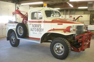 1942  DODGE  WC 1/2 TON 4X4 WRECKER
