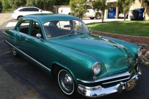 1951 Kaiser 4 Door Deluxe Completely Restored Beautiful Car