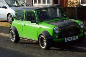 Austin Mini 1380cc road legal race car