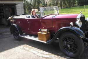 VINTAGE 1929 HUMBER 16/50 FIVE SEAT TOURER MATCHING NUMBERS ORIGINAL BODY